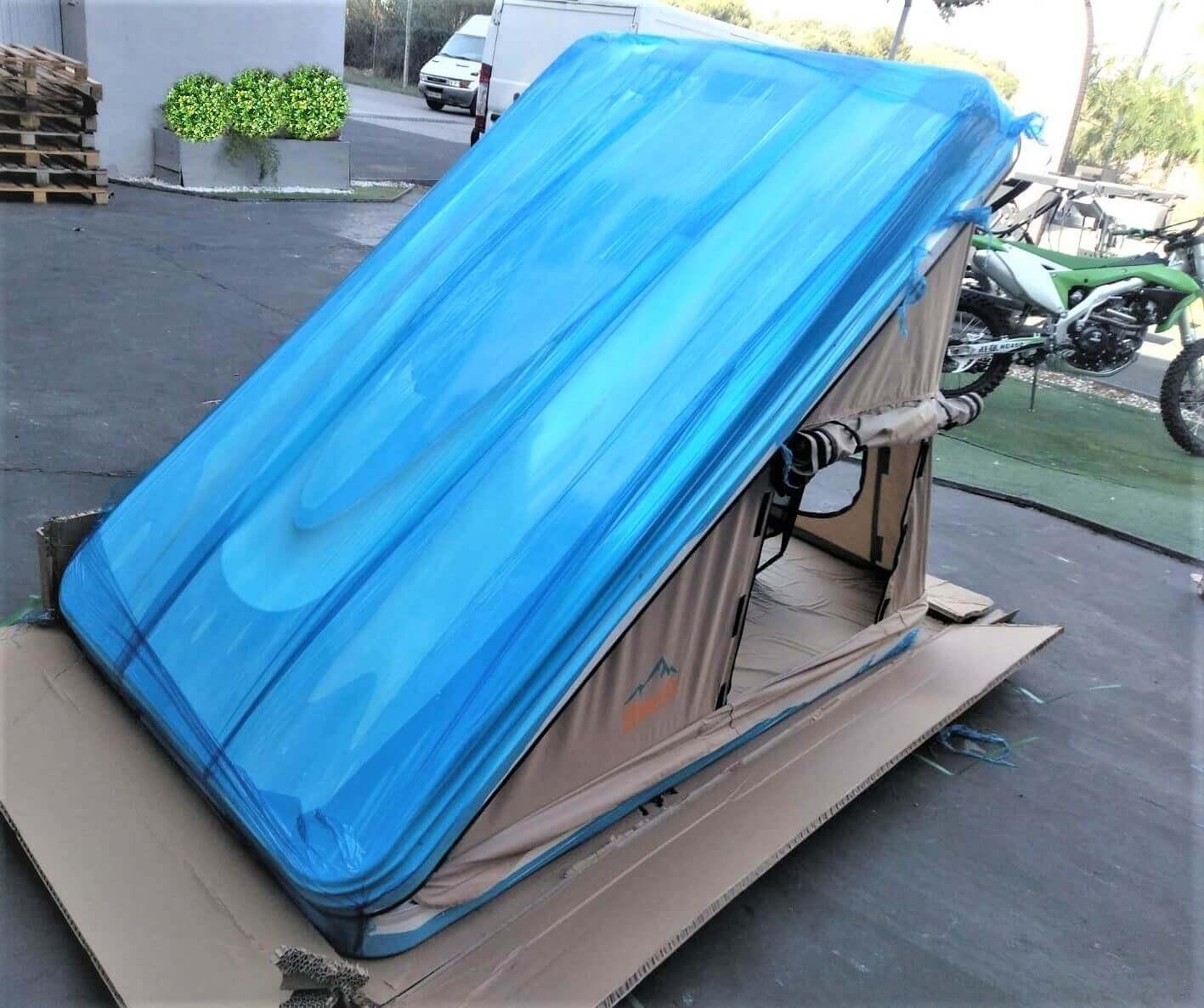 Tienda de techo Dotero 125 visión trasera